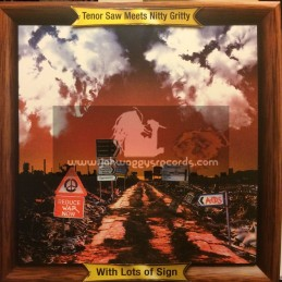 Black Roots-Lp-Tenor Saw Meets Nitty Gritty With Lots Of Sign