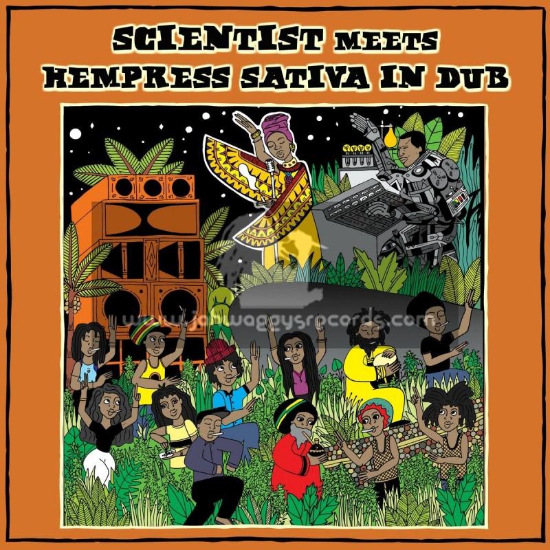Conquering Lion Records-Lp-Scientist Meets Hempess Sativa In Dub