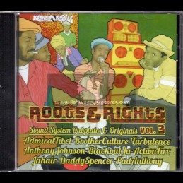 Segnale Digitale-CD-Roots And Rights Vol 3 - Sound System Dubplates & Originals