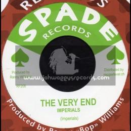 "Spade Records-7""-The Very End / Imperials + Carifta Special / Hippy Boys"