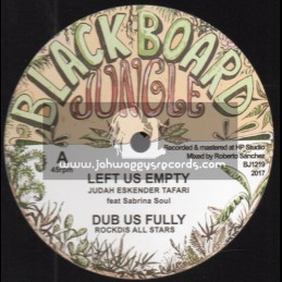 "Blackboard Jungle-12""-Left Us Empty / Judah Eskender Tafari"