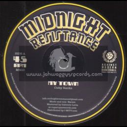 "Midnight Resistance-12""-My Town / Cutty Ranks"