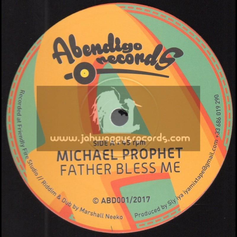 """Abendigo Records-12""""-Father Bless Me / Michael Prophet"""