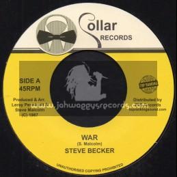 """Collar Records-Top Ranking Sound-7""""-War / Steve Becker"""
