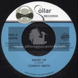 "Collar Records-Top Ranking Sound-7""-Wake Up / Conroy Smith"