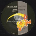"Gem Star-Top Ranking Sound-7""-One Girl Gone / Danny Coxone"