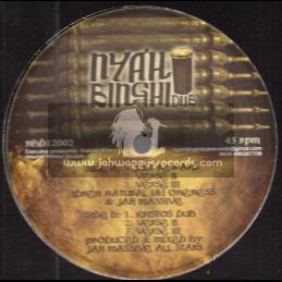 """Nyah Binghi Dub-12""""-Just Reward / Idren Natural , I&I Oneness & Jah Massive + Kristos Dub / Jah Massive"""