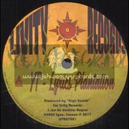 """Livity Records-7""""-Lyrics Plantation / YT + Dub Plantation / High Budub Sound"""