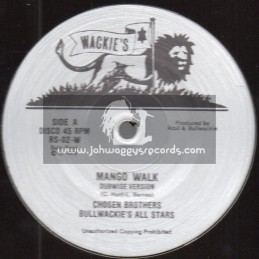 "Wackies-12""-Mango Walk / Chosen Brothers Bullwackies All Stars + Mango Drive / Rhythm & Sound"