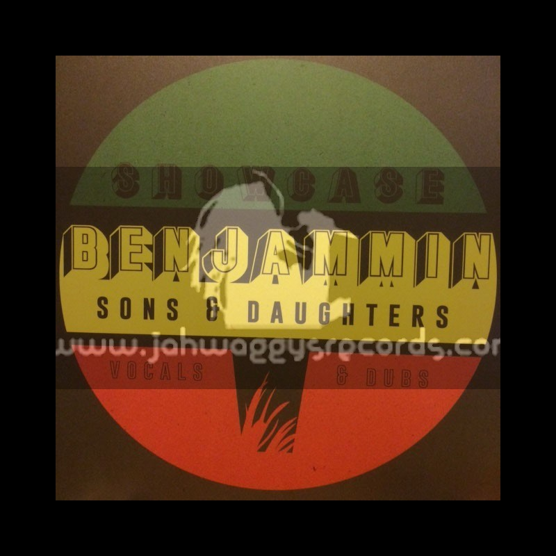 A Lone Productions-Lp-Sons And Daughters / Benjamin - Vocal And Dubwise Showcase