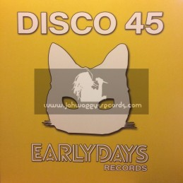 "Earlydays Records-12""-Run Bwoy Run / Ashanti Waugh + Sleep Last Night / Courtney Melody"