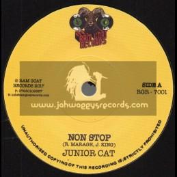 """Ram Goat Records-7""""-Non Stop / Junior Cat"""