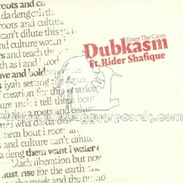 "Dubkasm Records-12""-Enter The Gates / Dubkasm Meets Rider Shafique"