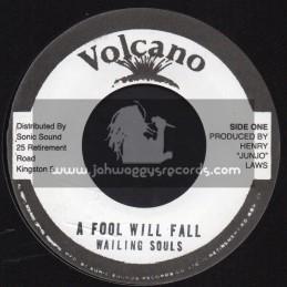 "Volcano-7""-A Fool Will Fall / Wailing Souls"