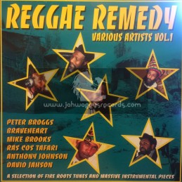 Reggae Remedy-Lp-Various Artist - Vol 1
