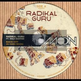 "Moonshine Recordings-12""-Back Off / Solo Banton + Raggamuffin Souljah / Echo Ranks"