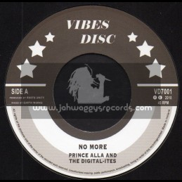 """Vibes Disc-7""""-No More / Prince Alla And The Digital Ites"""