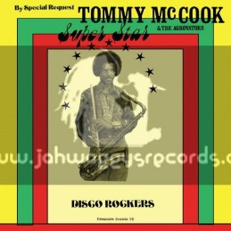 Weed Beat-Pressure Sounds-Lp-Super Star - Disco Rockers / Tommy McCook & The Agrovators