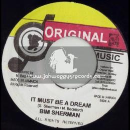 """ORIGINAL MUSIC-7""""-IT MUST BE A DREAM / BIM SHERMAM"""