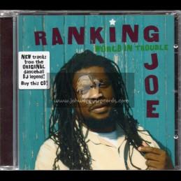 M Records-CD-World In Trouble / Ranking Joe