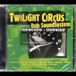 M Records-CD-Twilight Circus Dub Sound System ‎– Remixed: Dubwise