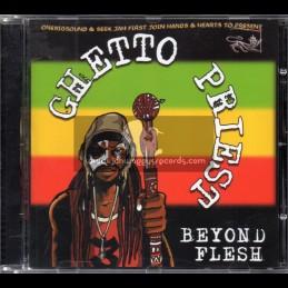 Seek Jah First-CD-Beyond Flesh / Ghetto Priest