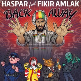"Lions Den-Black Redemption-12""-Back Away / Haspar Feat. Fikir Amlak"