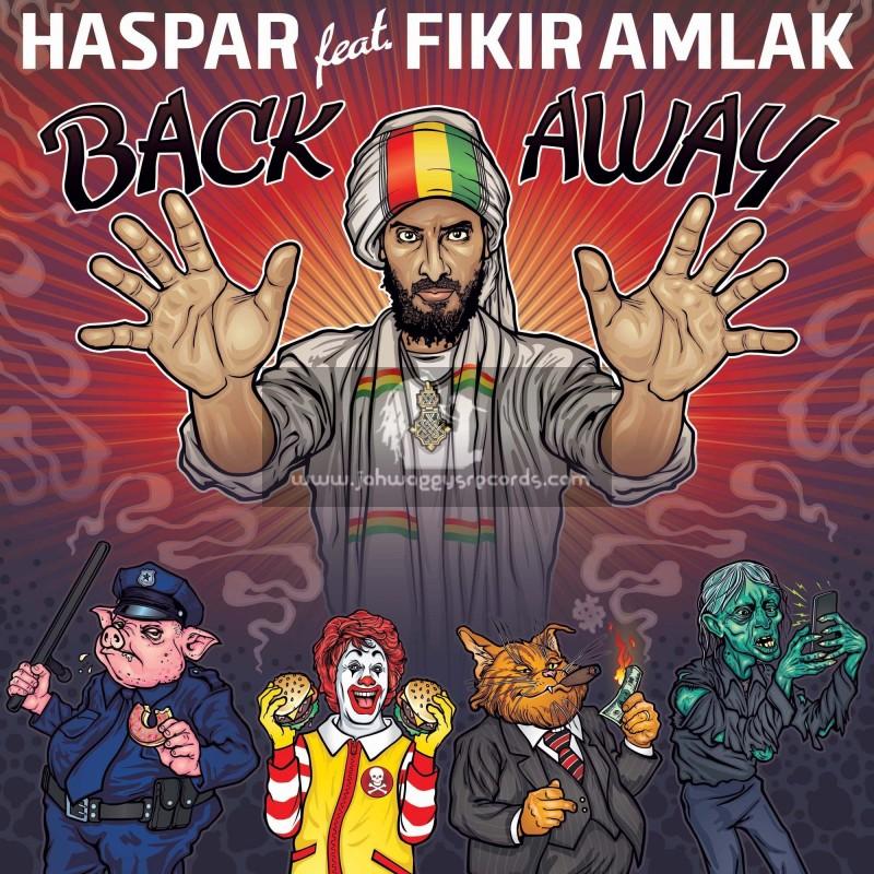 "Lions Den-Black Redemption-12""-Back Away / Haspar Feat. Fikir Amlak"