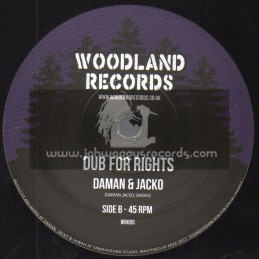 "Woodland Records-7""-Womens Rights / Daman & Jacko"