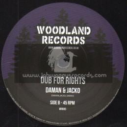 "Woodland Records-7""-Womens Rights / Daman & Jacko"