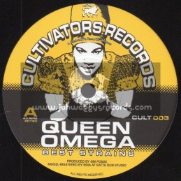 """Cultivators Records-7""""-Best Strains / Queen Omega"""