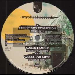 "Mystical Records-12""-Conscious Evolution / Joe Pilgrim + Strictly Love / Iyah Ranks"