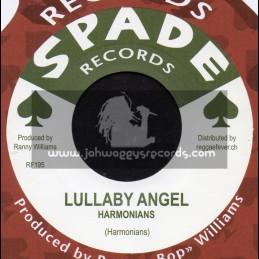 "Spade Records-7""-Lullaby Angel / Harmonians + Hidden Treasure / Ranny Williams & Hippy Boys"