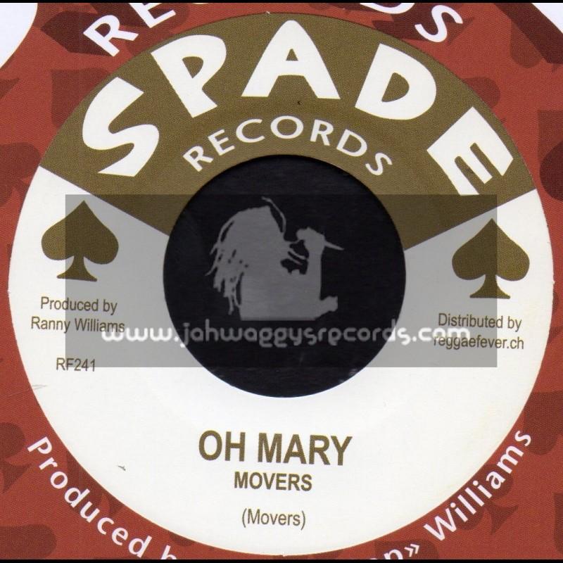 "Spade Records-7""-Oh Mary / Movers + The Reggay / Count Busty & Hippy Boys"