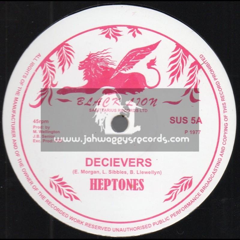 "Black Lion-12""-Decievers / Heptones + Meaning Of Life / Heptones"