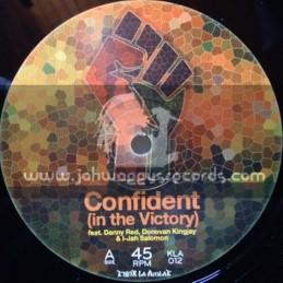 "Kibir La Amlak-12""-Confident (in the Victory) Feat. Danny Red , Donovan Kingjay & I-Jah Salomon"