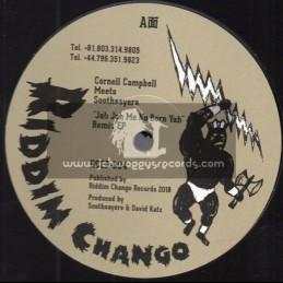 "Riddim Chango-12""-Jah Jah Me No Born Yah Remix EP / Cornell Campbell"
