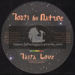 """Roots By Nature-7""""-Rasta Love / Roots By Nature"""
