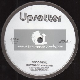 "Upsetter-12""-Disco Devil / Lee Perry And The Full Experiences"