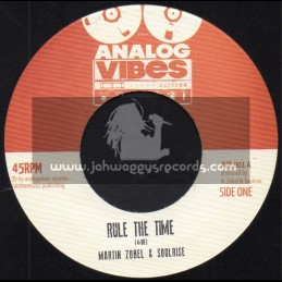 "Analog Vibes-7""-Rule The Time / Martin Zobel & The SoulRise"