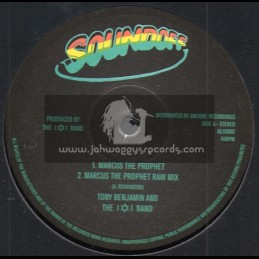 "Sound Off - Archive-10""-Marcus The Prophet / Tony Benjamin & The I & I Band"