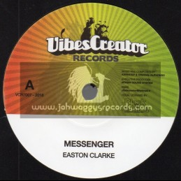 """Vibes Creator Records-7""""-Messenger / Easton Clarke + Dub / Kingstep & Crucial Anphonso"""