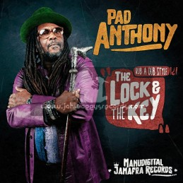 """Jamafra Records-12""""-The Lock And The Key / Pad Anthony"""