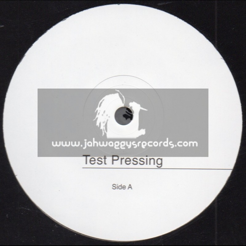 "Test Press-Jah Light-10""-Jah Foundation / Junior Dan & Jah Light"
