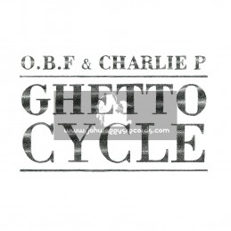 Dubquake Records-Double-LP-Ghetto Cycle / O.B.F & Charlie P