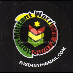 """Militant Warriors Promotions-12""""-Global Unity / Prince Alla - 500 Limited Edition"""