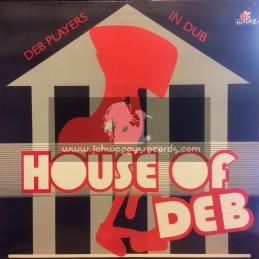 D.E.B. Music-Lp-House Of Deb / DEB Music Players