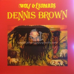 D.E.B. Music-Lp-Wolf & Leopards / Dennis Brown