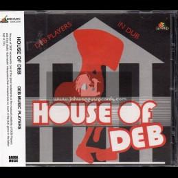 D.E.B. Music-CD-House Of Deb / DEB Music Players