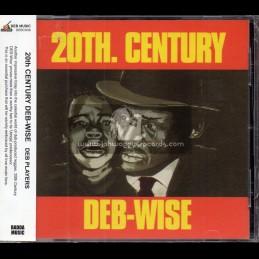 D.E.B. Music-CD-20th. Century Deb-Wise / DEB Players